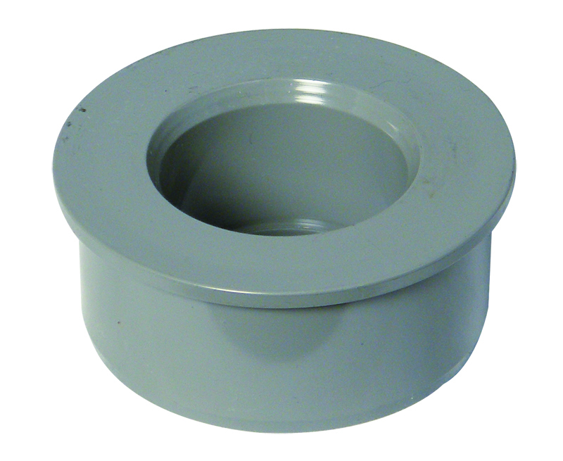 FLOPLAST SS22G 50MM SOLVENT BOSS ADAPTOR OLIVE GREY