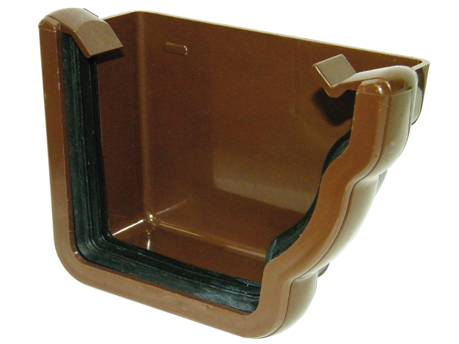FLOPLAST REN2BR NIAGARA - RIGHT HAND EXTERNAL STOPEND - BROWN