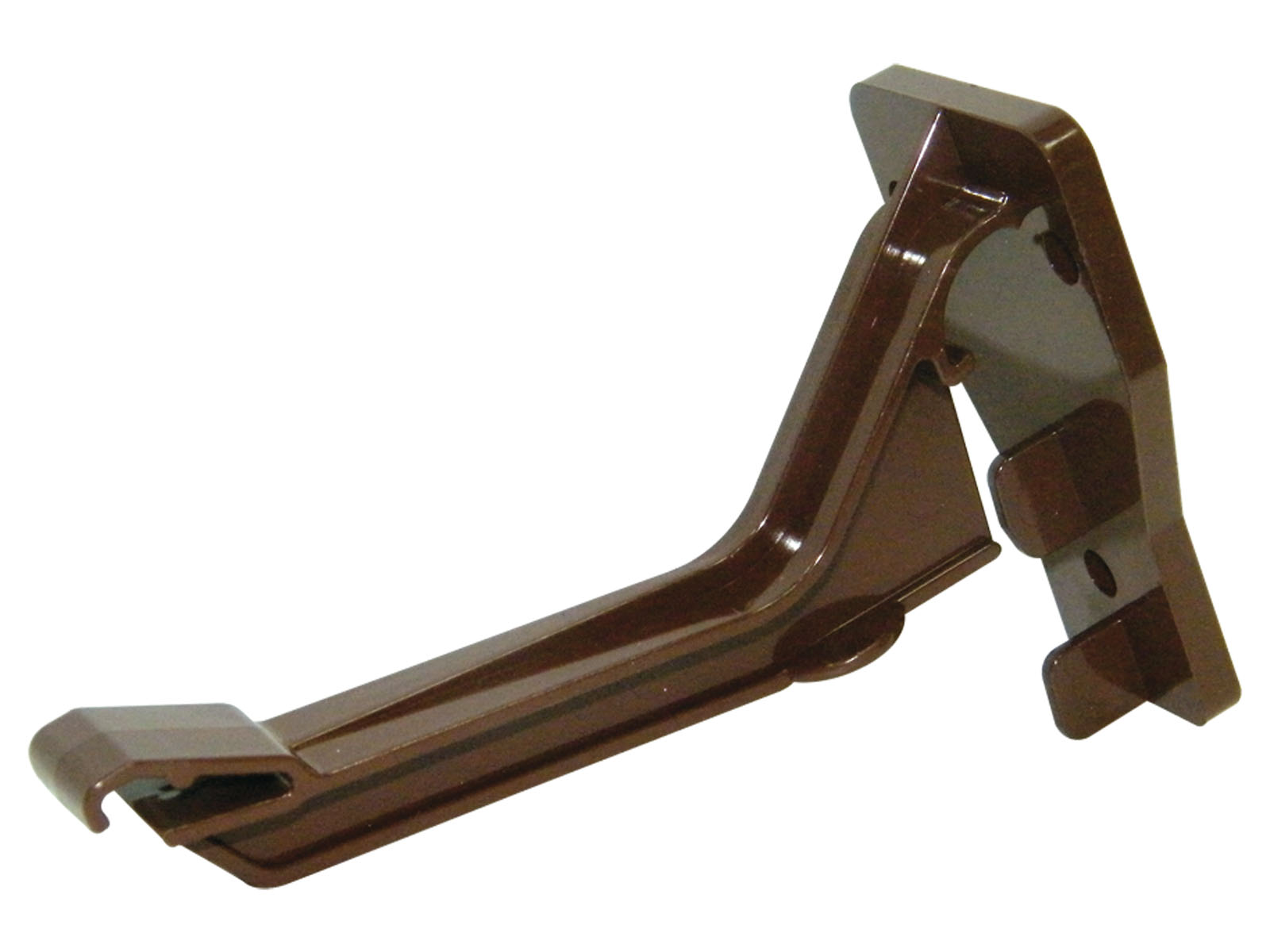 FLOPLAST NIAGARA - RKN2 TOP HUNG FASCIA BRACKET - BROWN