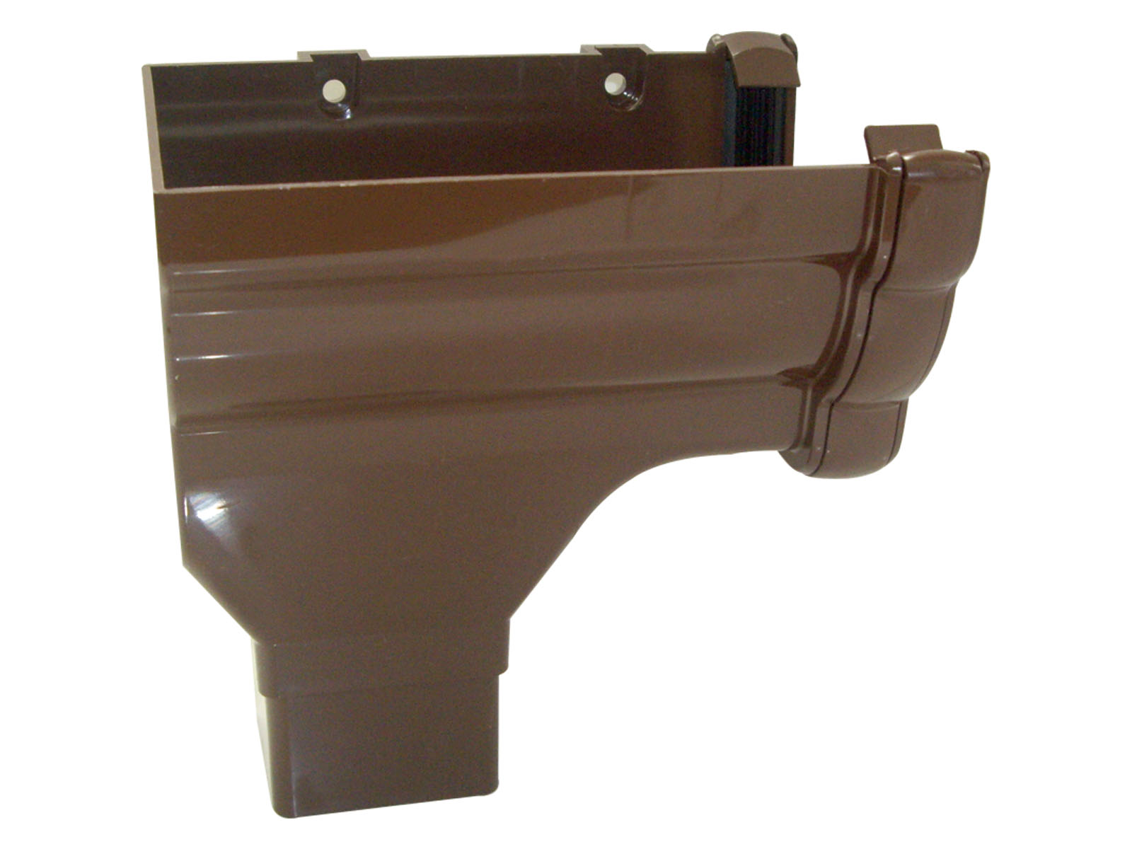 FLOPLAST RON2BR NIAGARA - L/H STOPEND OUTLET - BROWN