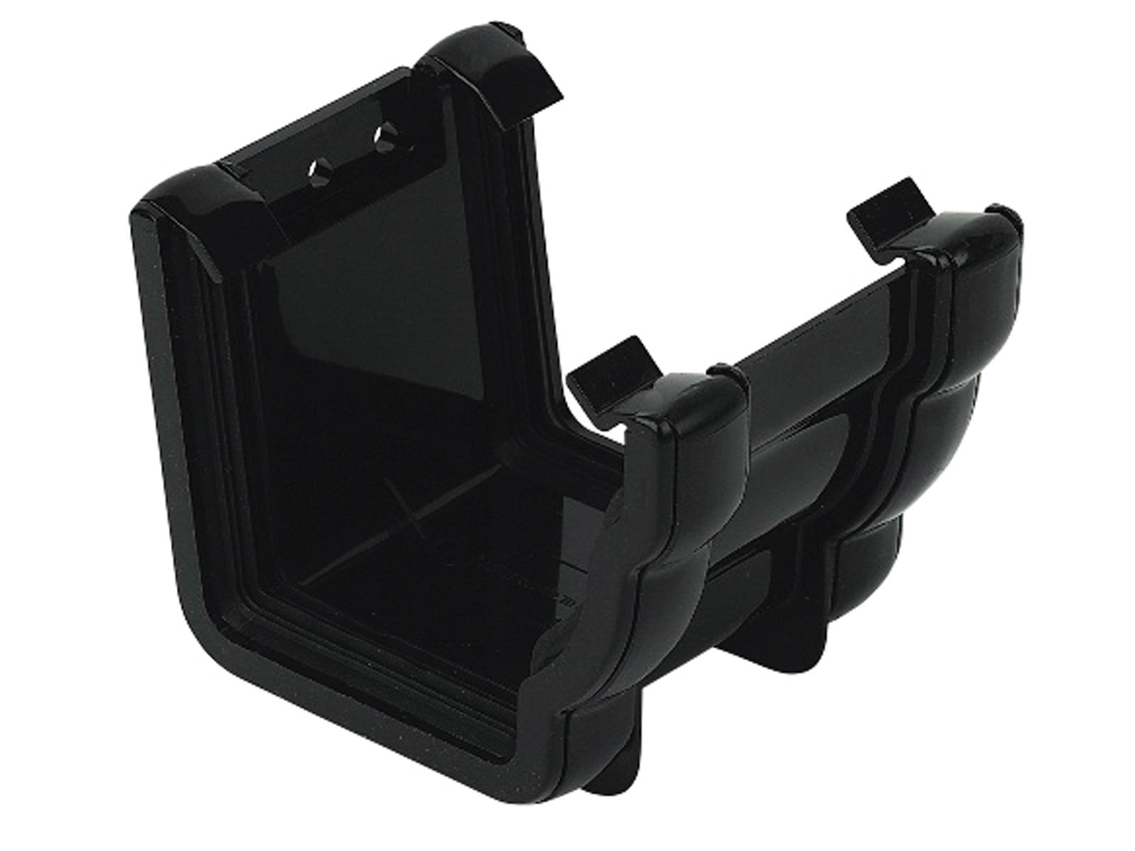 FLOPLAST NIAGARA - RUN1 UNION BRACKET - BLACK