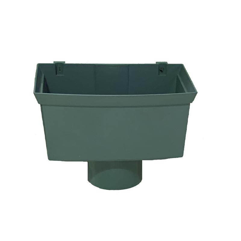 Floplast RHX1GR 170mm Xtraflo Gutter System - Hopper - Grey
