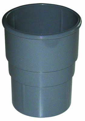 FLOPLAST RSM1GR MINIFLO 50MM DOWNPIPE - PIPE SOCKET (CONNECTOR) - GREY