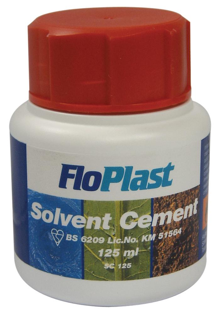 Floplast SC125 125ml Solvent Cement