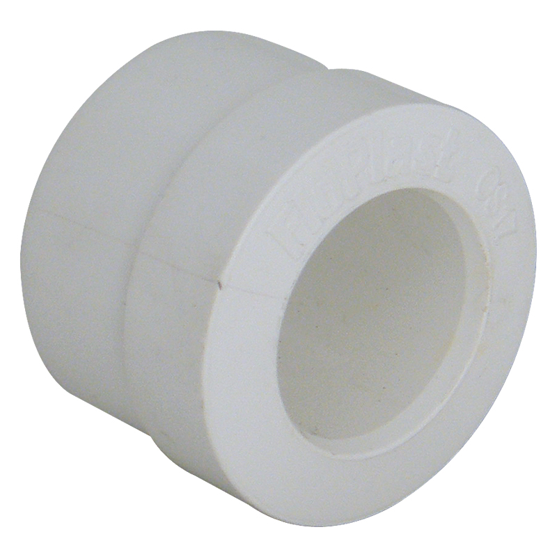 FLOPLAST OS17W 32MM REDUCER OVERFLOW 21.5MM WHITE