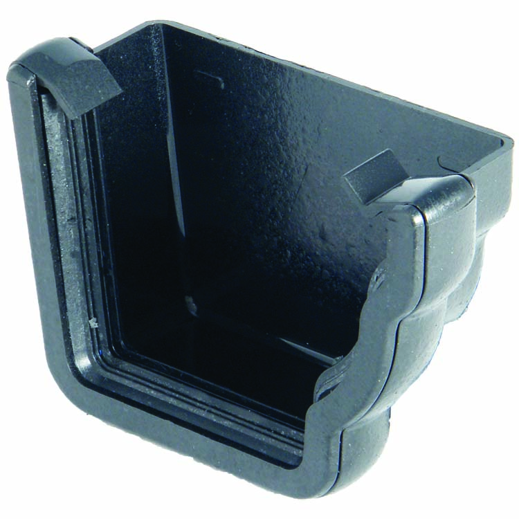 FLOPLAST REN2CI NIAGARA - RIGHT HAND EXTERNAL STOPEND - FAUX CAST IRON