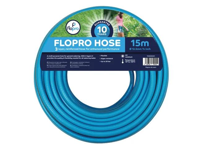 FLOPRO HOSE 15M 12.5MM (1/2IN) DIAMETER