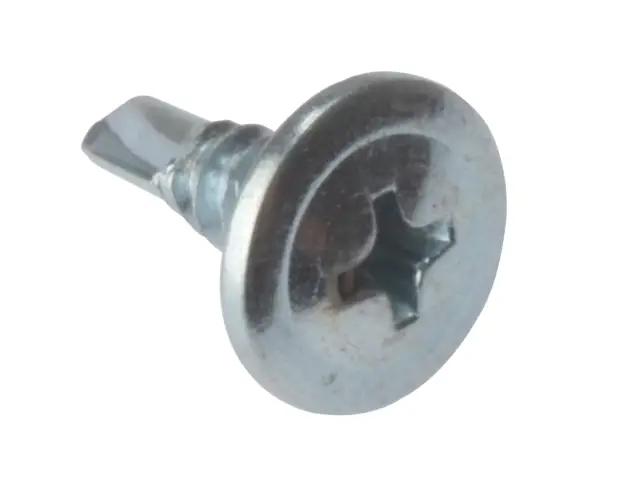 Forgefix Drywall Screws Wafer Head Self-Drill TFT ZP 4.2 x 13mm (Box of 1000)
