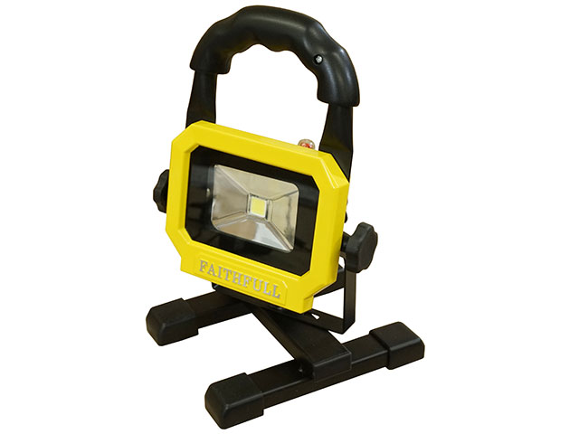 FAITHFULL RECHARGEABLE LED WORK LIGHT WITH MAGNETIC BASE - FPPSLLEDPOD