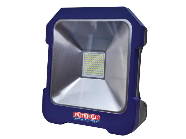 FAITHFULL 20W TASK LIGHT 240V SMD & POWER TAKE OFF - FPPSLTL20
