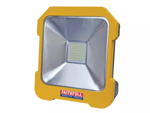 FAITHFULL 20W TASK LIGHT 110V SMD & POWER TAKE OFF - FPPSLTL20L