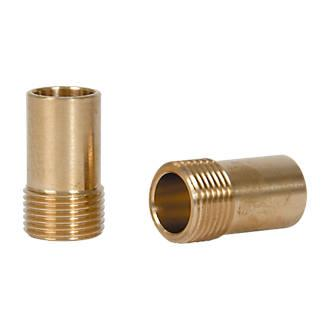"FLEXI TAP TAIL ADAPTORS 1/2"" FITS ALL 15MM STANDARD ISOLATION VALVES"