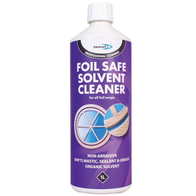Bond-It Foil Safe Solvent Cleaner 1Ltr BDC007