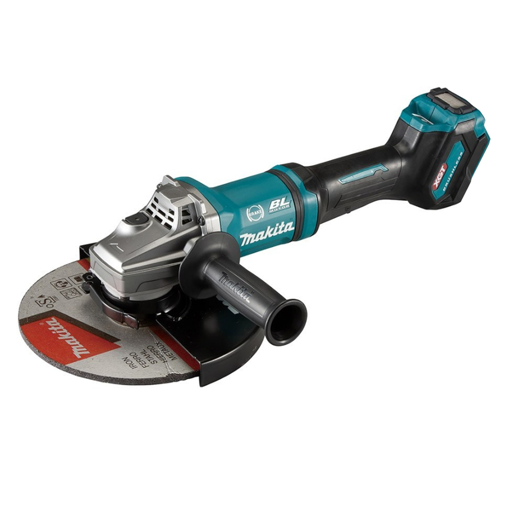 Makita 40v Max XGT 230mm Brushless Paddle Switch Angle Grinder - GA038GZ07 - Body Only