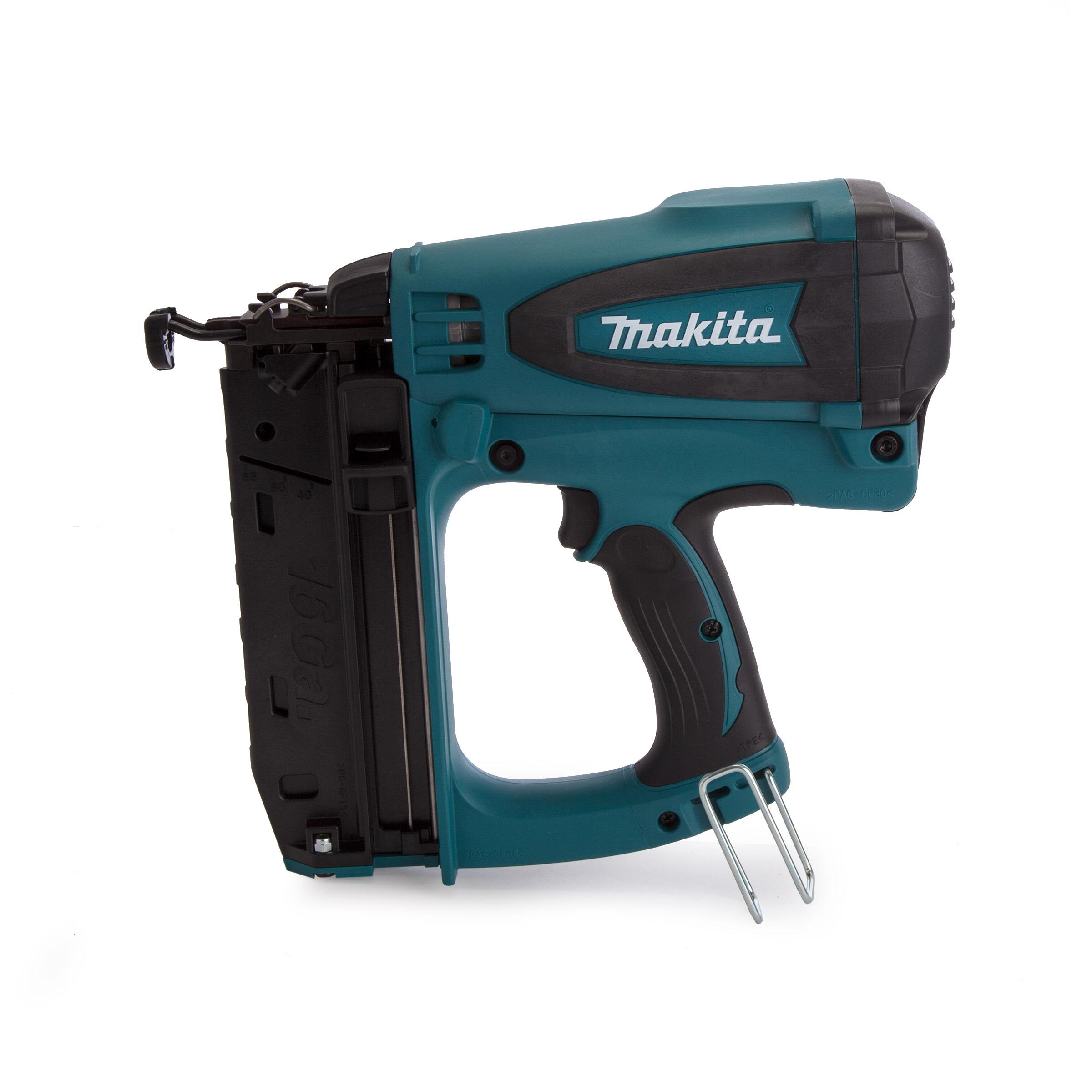 Makita 7 2v 2nd Fix Finishing Gas Nail Gun Gf600se Mj