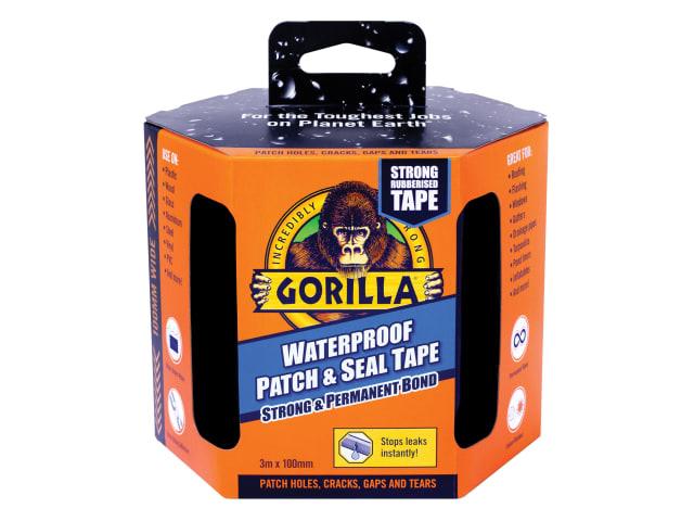 GORILLA TAPE PATCH & SEAL - WATERPROOF TAPE - 100MM X 3M