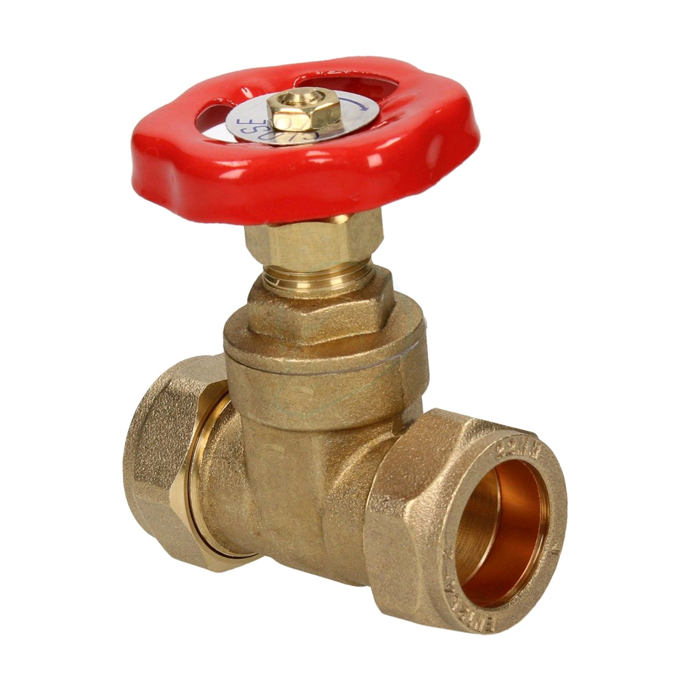 15MM BRASS GATE VALVE C X C