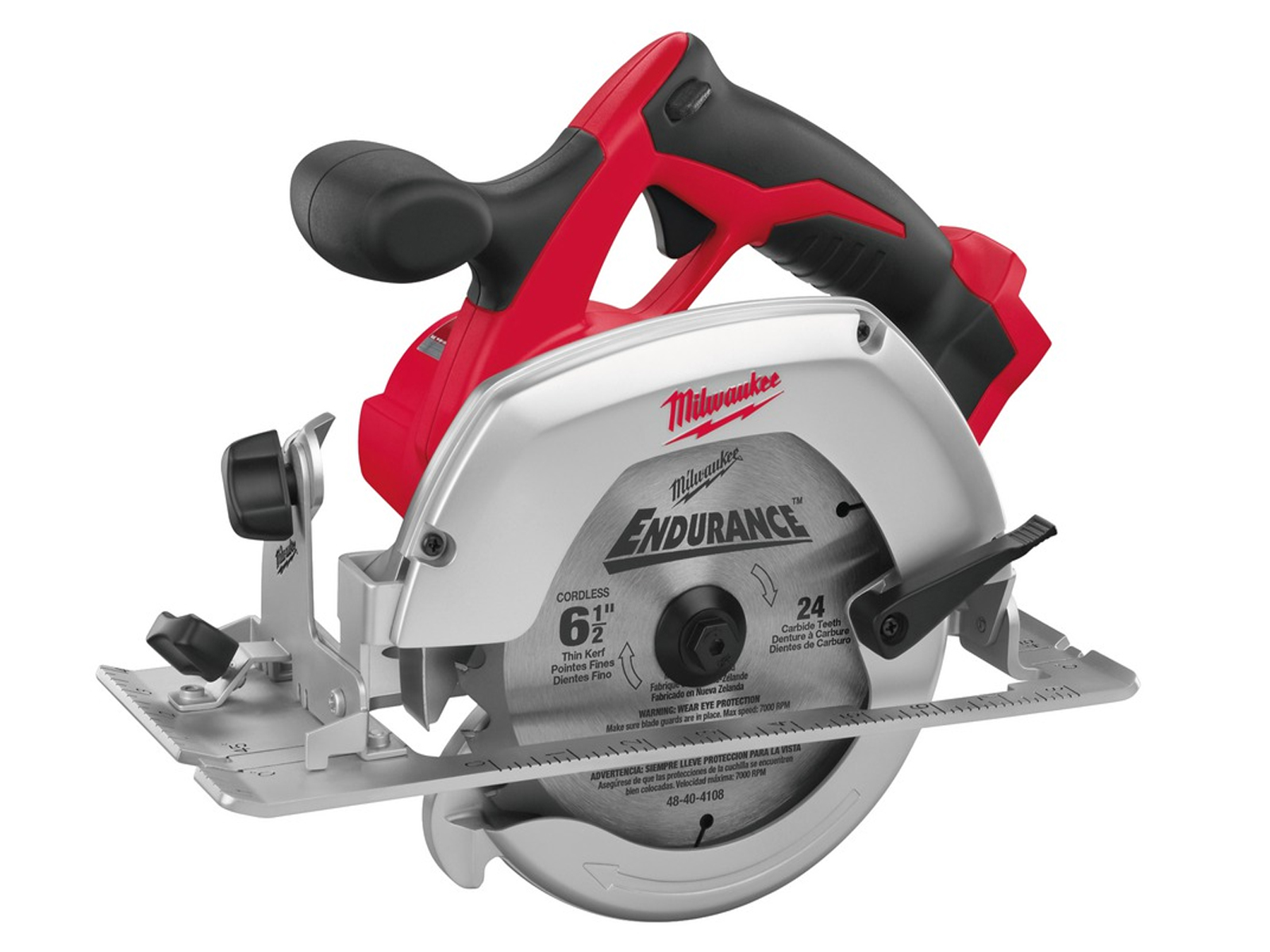 Milwaukee HD18CS 18V Heavy Duty 165mm (55mm) Circular Saw for Wood and Plastic - Body Only
