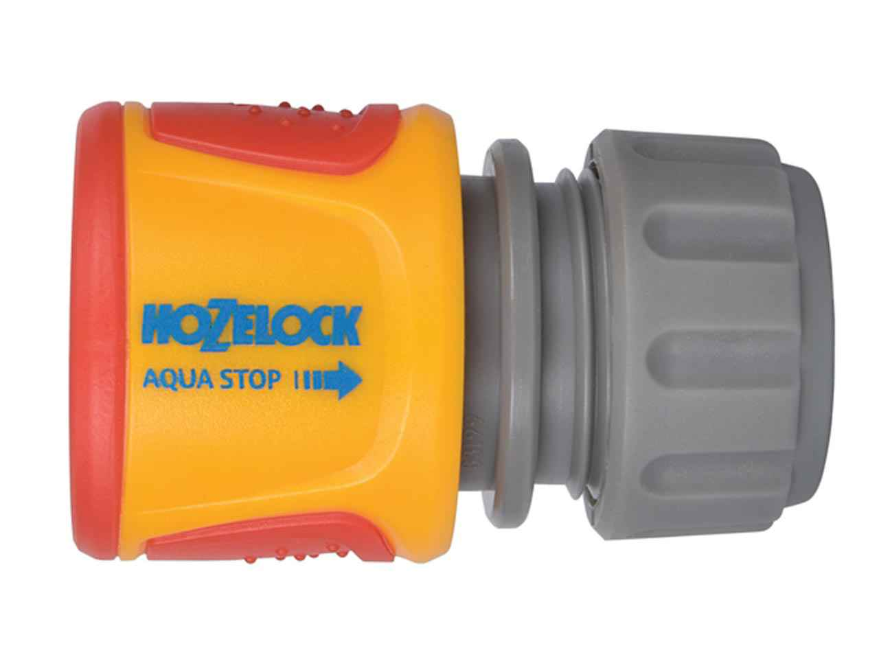 Hozelock 2075 Soft Touch Aquastop Connector 1/2In