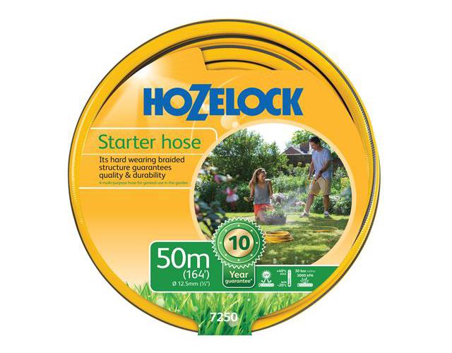 HOZELOCK 7250 STARTER HOSE 50 METRE 12.5MM (1/2IN) DIAMETER