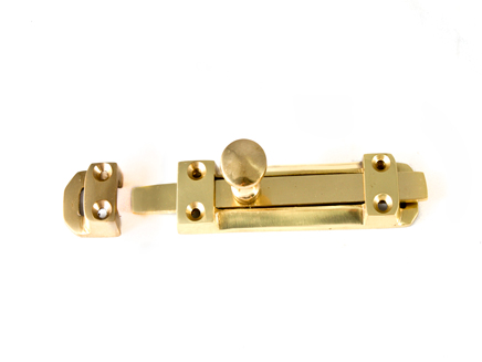 Brass Surface Top Slide Bolt PLB 102mm / 4In