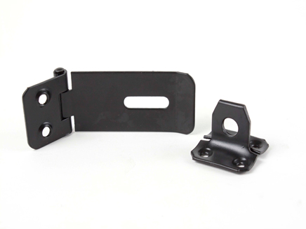 "SAFETY HASP & STAPLE BLACK EXB 114MM / 4.1/2"" HQ1889/4"