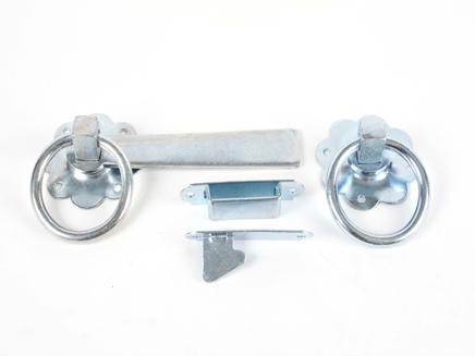 Ring Gate Latch BZP 152mm / 6in
