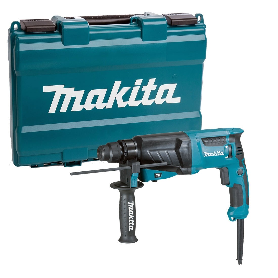 Makita HR2630 110V 3-Mode SDS Plus Rotary Hammer Drill 26mm - Variable Speed Control by Trigger
