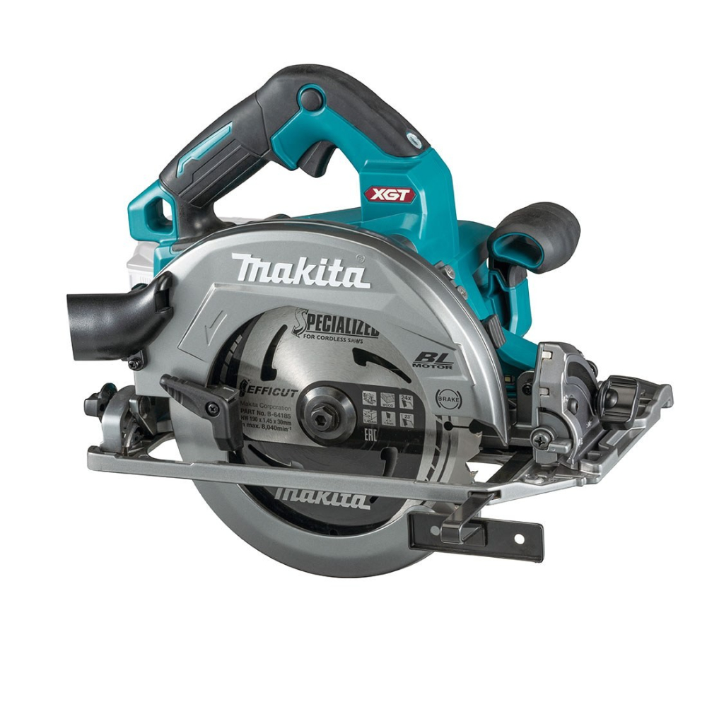 Makita 40v Max XGT 190mm Circular Saw - HS004GZ01 - Body Only