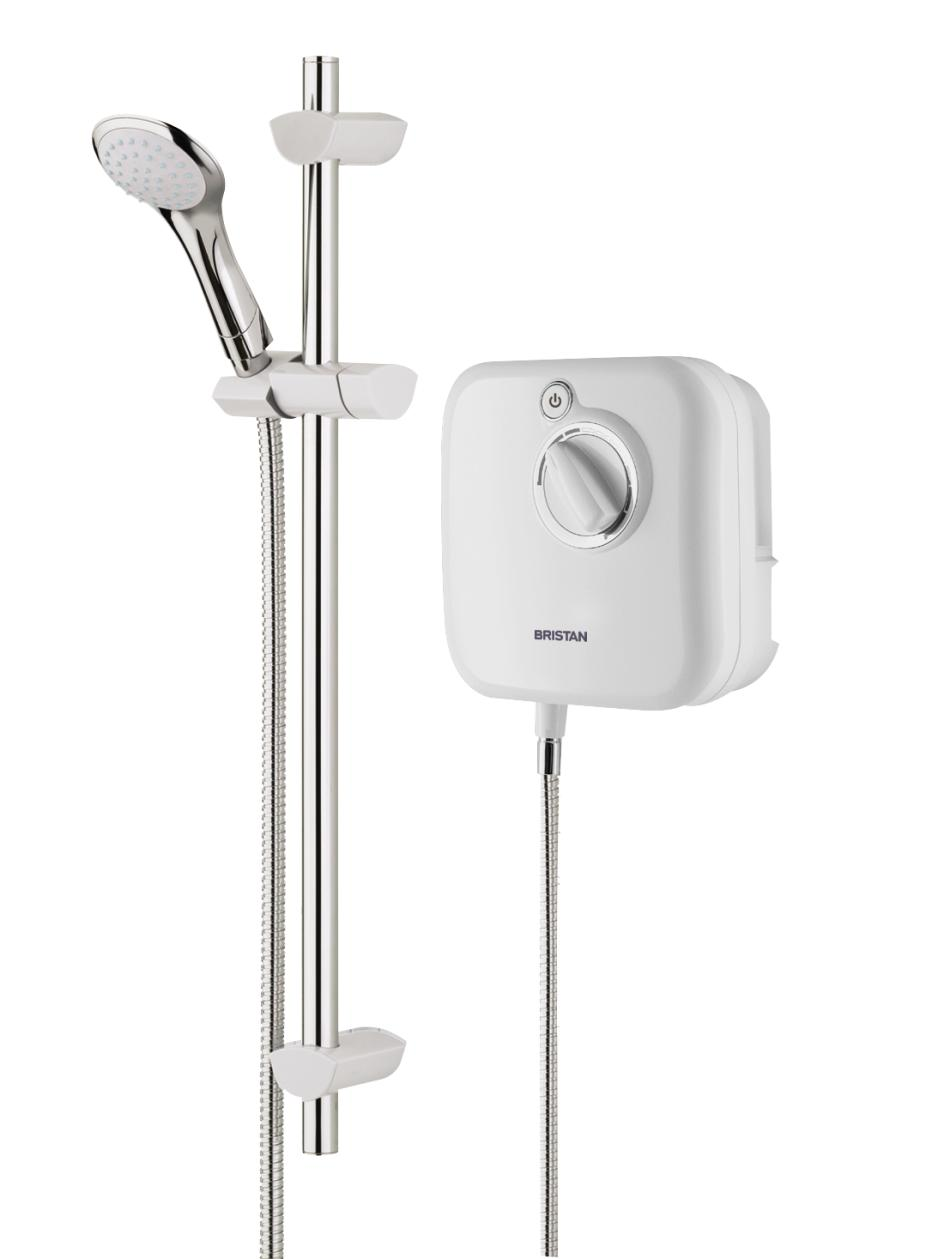 BRISTAN HYDRO POWER THERMOSTATIC POWER SHOWER 1000 WHITE - HY POWSHX10 W