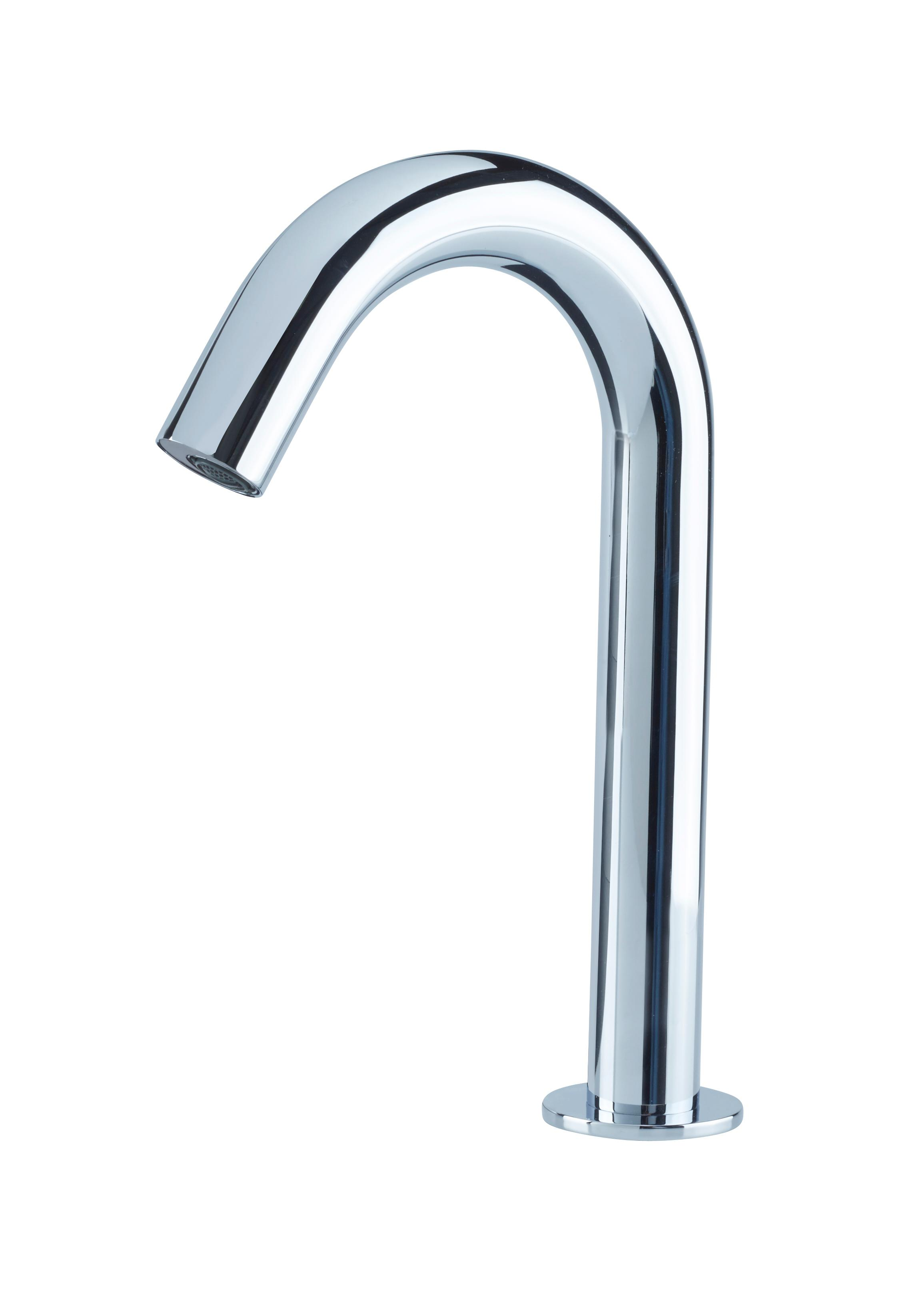 Bristan Infrared Automatic Swan Neck Basin Spout - Chrome
