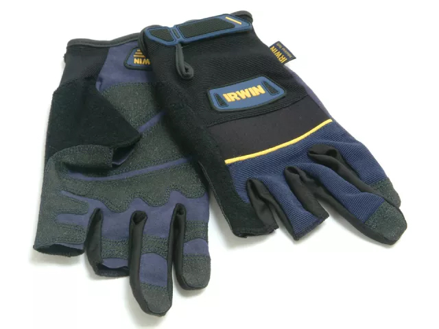 IRWIN CARPENTERS GLOVES - LARGE