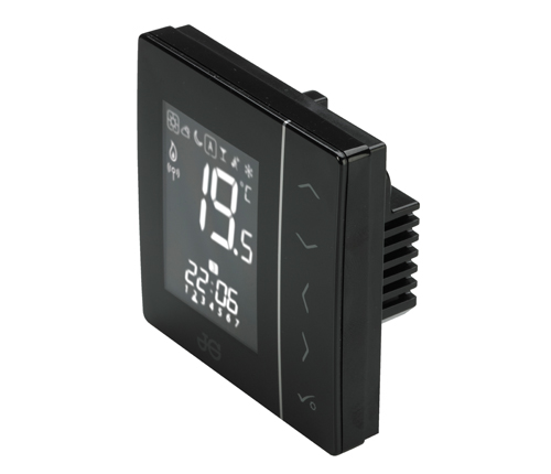SPEEDFIT AURA 230V THERMOSTAT BLACK - JGSTAT2B