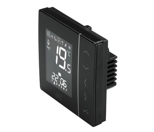 Speedfit Aura 230V Thermostat Black - JGSTAT2B