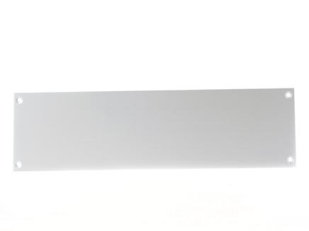 Aluminium Kicking Plate SAA 825mm x 203mm / 32.1/2 x 8 Inch - KX766