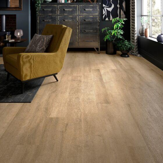 Verona ClickLux Rigid Luxury Vinyl Flooring 2.16m2 - Light Oak