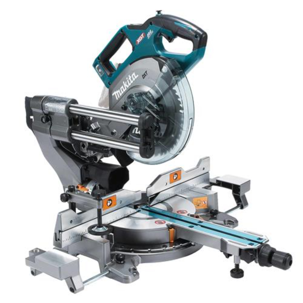 Makita 40V Max XGT 216mm Double Bevel Mitre Saw AWS - LS002GZ01 - Body Only