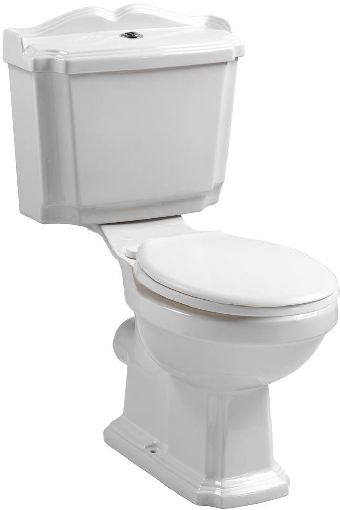 QX LEGEND WC CLOSE COUPLED PAN / CISTERN & SOFT CLOSE SEAT