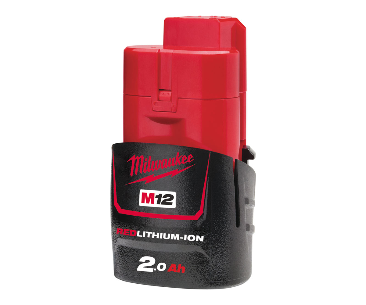 Milwaukee M12B2 12V 2.0ah Lithium-ion Battery