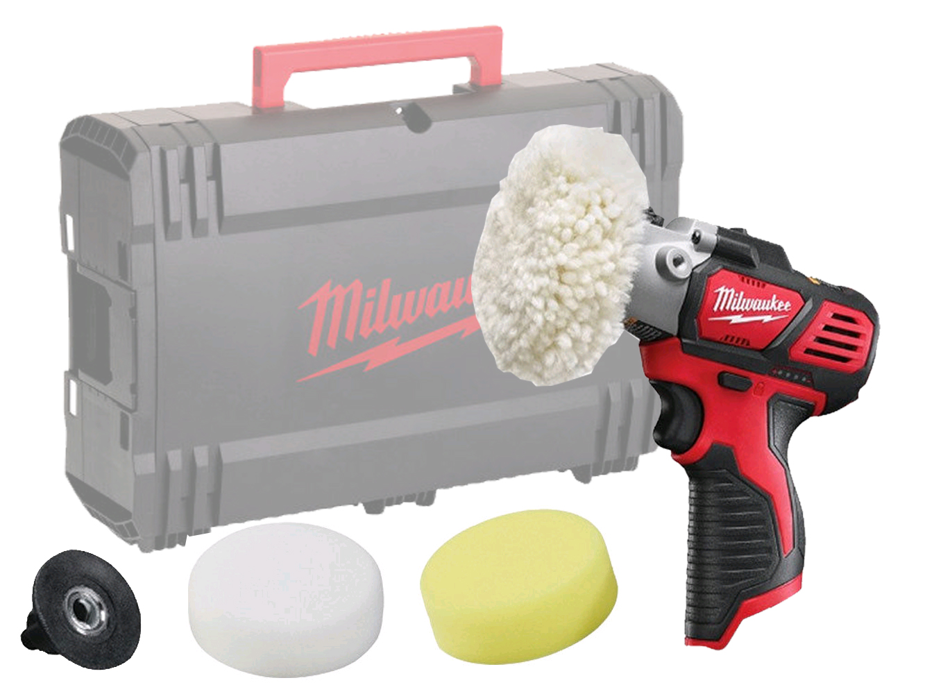 Milwaukee M12BPS 12V Polisher / Sander - Sub Compact - Body Only 4933447791
