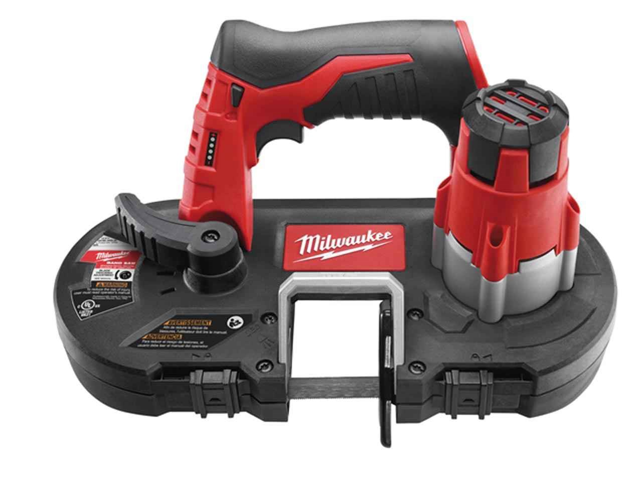 Milwaukee M12BS 12V Sub Compact Bandsaw - Body Only