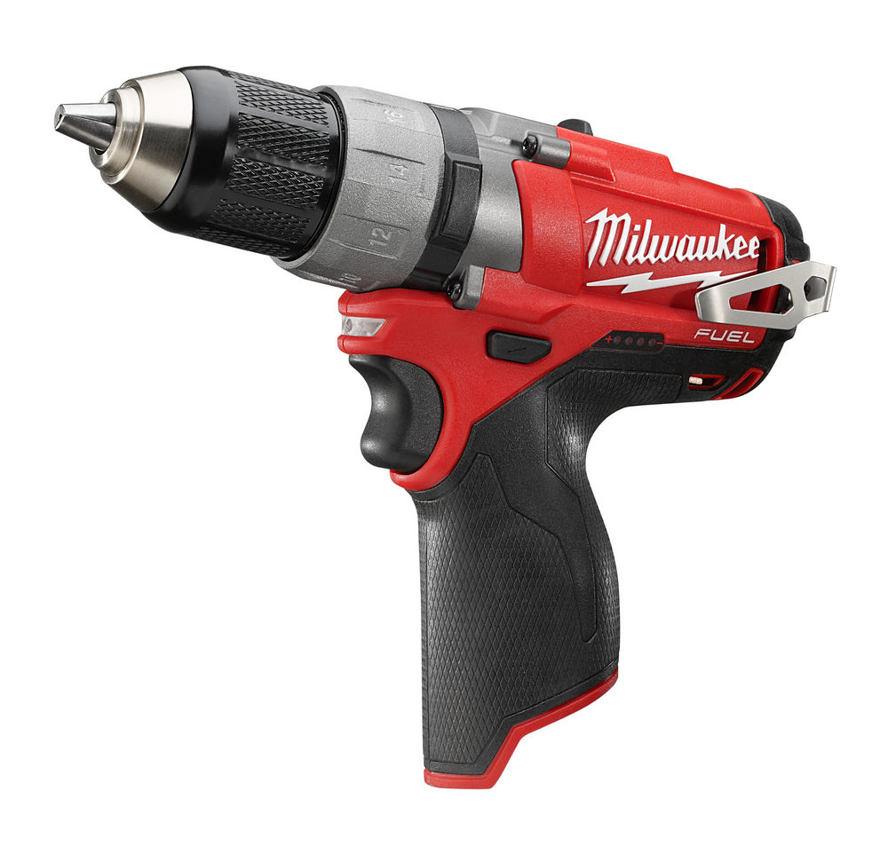 MILWAUKEE 12V FUEL BRUSHLESS 2-SPEED COMBI DRILL - M12FPD - MACHINE ONLY
