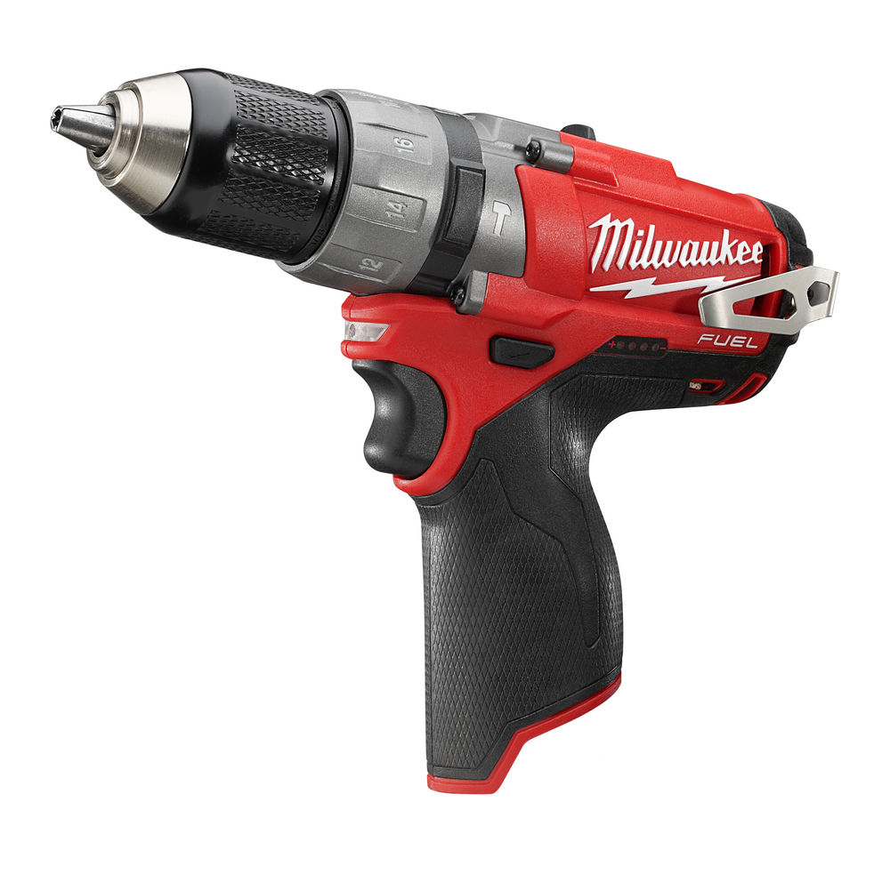 MILWAUKEE 12V FUEL BRUSHLESS PERCUSSION DRILL - M12CPD - BODY ONLY