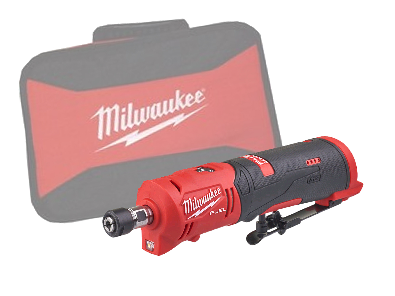 Milwaukee M12FDGS 12V FUEL Brushless Straight Die Grinder - Body Only