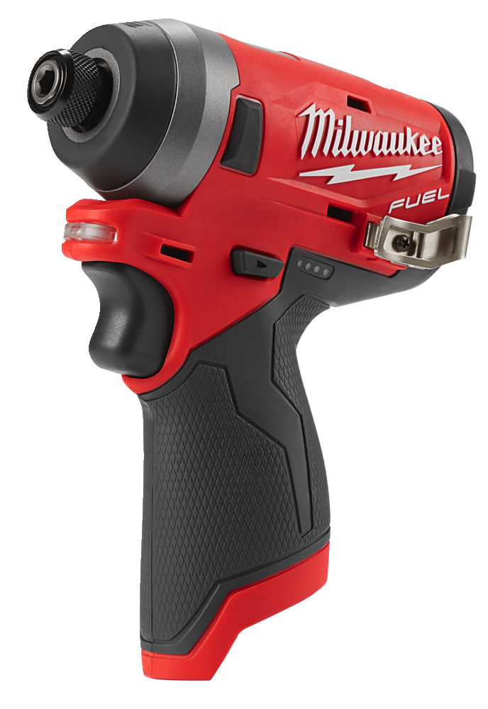 MILWAUKEE M12FID 12V FUEL BRUSHLESS 4-SPEED IMPACT DRIVER - MACHINE ONLY
