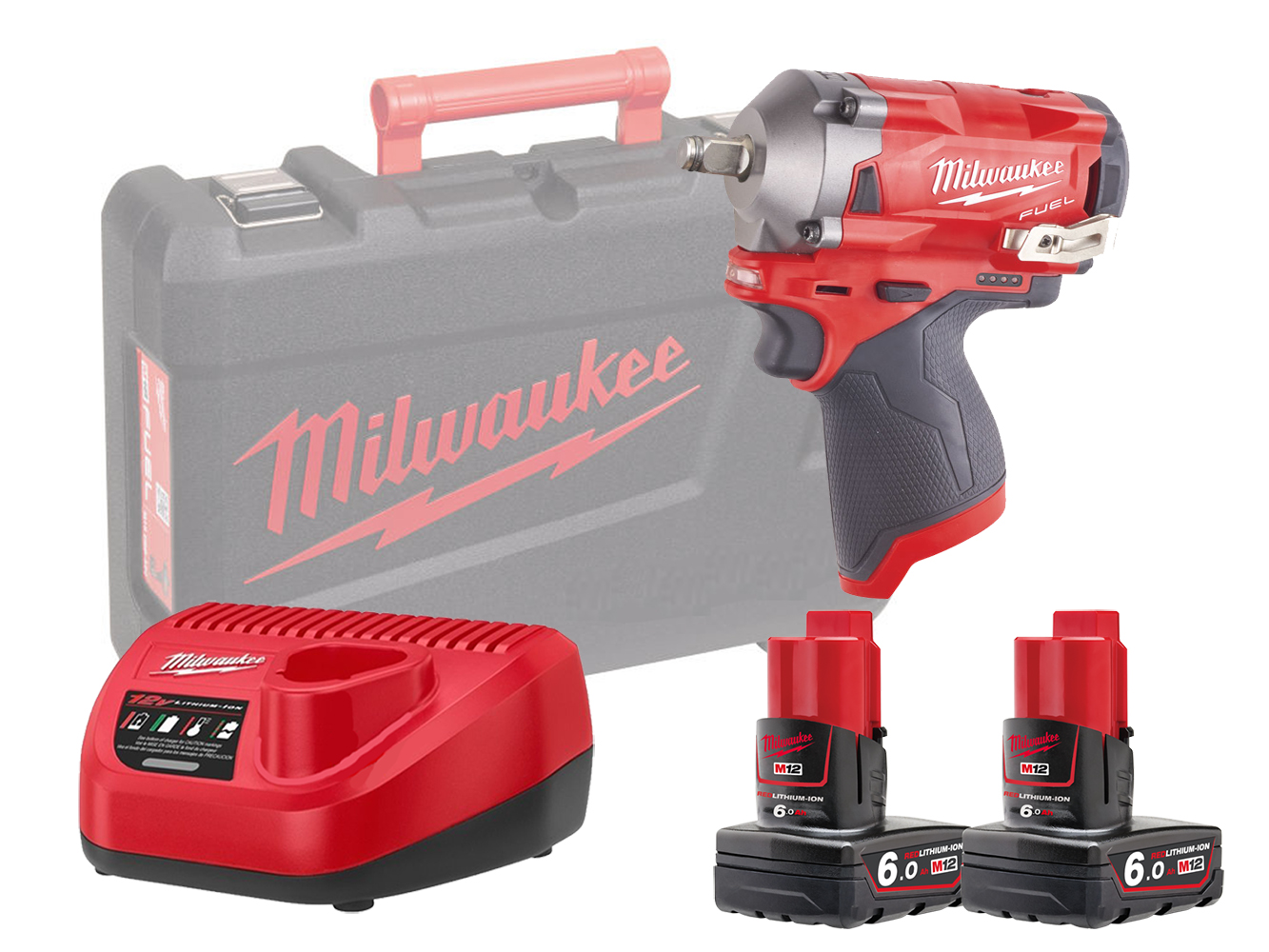 MILWAUKEE 12V FUEL COMPACT IMPACT WRENCH 1/2