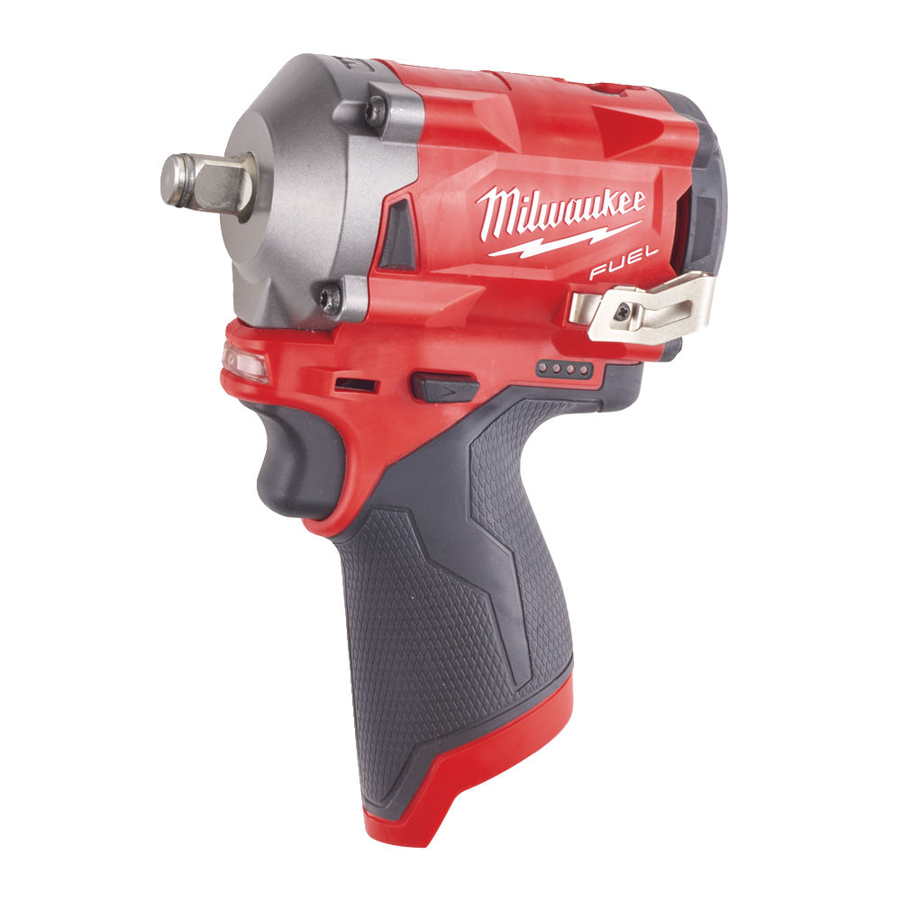 "MILWAUKEE 12V FUEL COMPACT IMPACT WRENCH 1/2"" - M12FIWF12 - BODY ONLY"