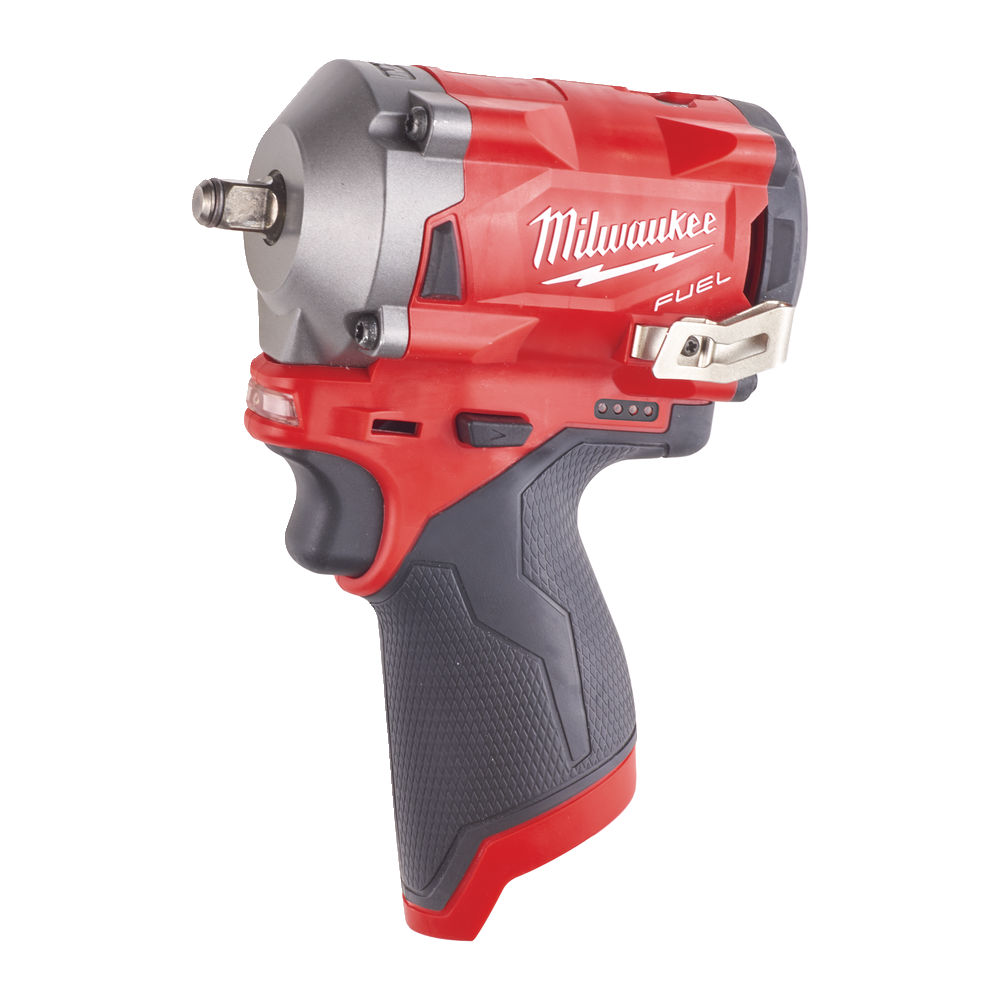Milwaukee M12FIW38 12V Fuel Compact Impact Wrench 3/8In - Body Only