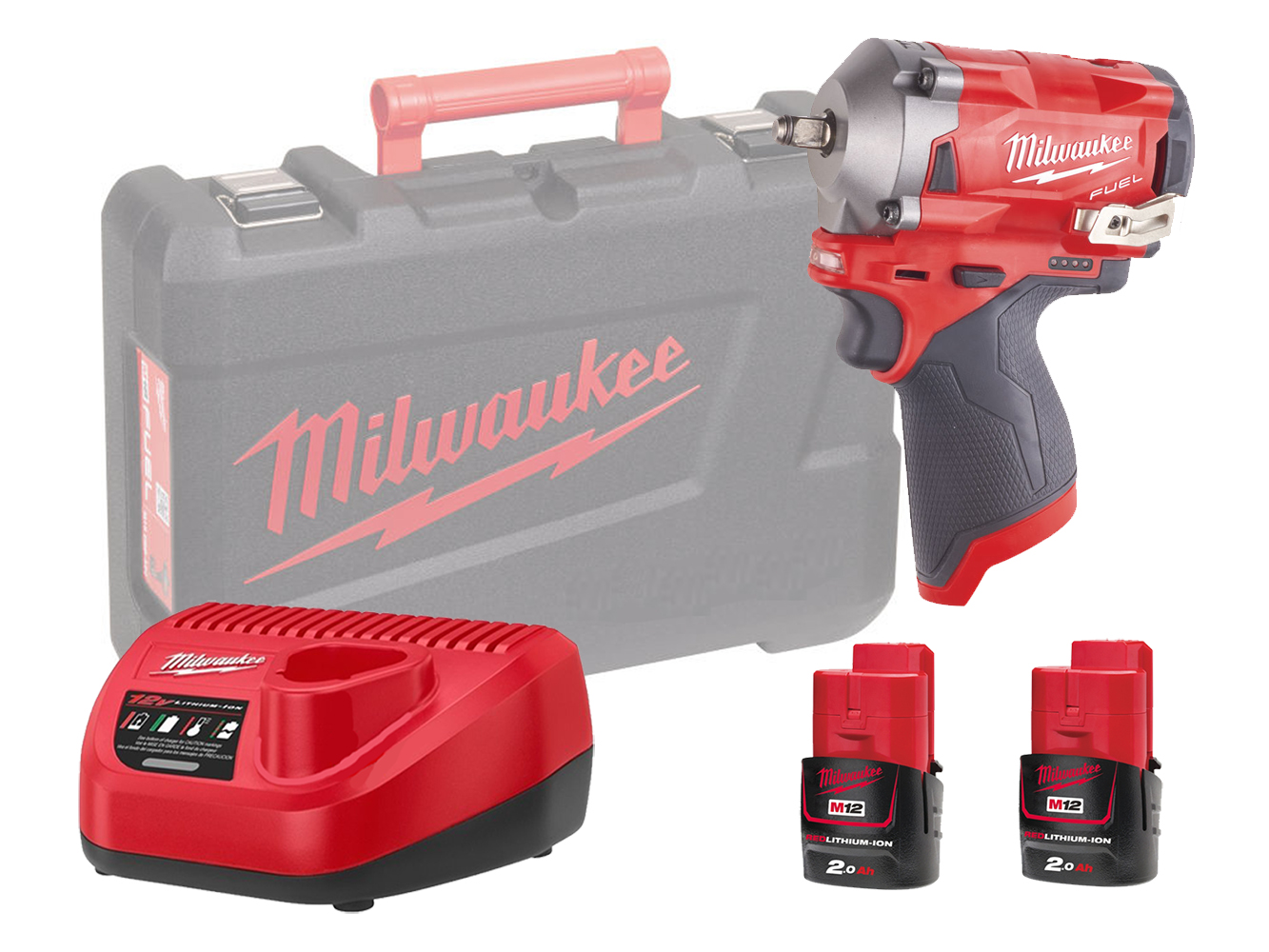 MILWAUKEE 12V FUEL COMPACT IMPACT WRENCH 3/8
