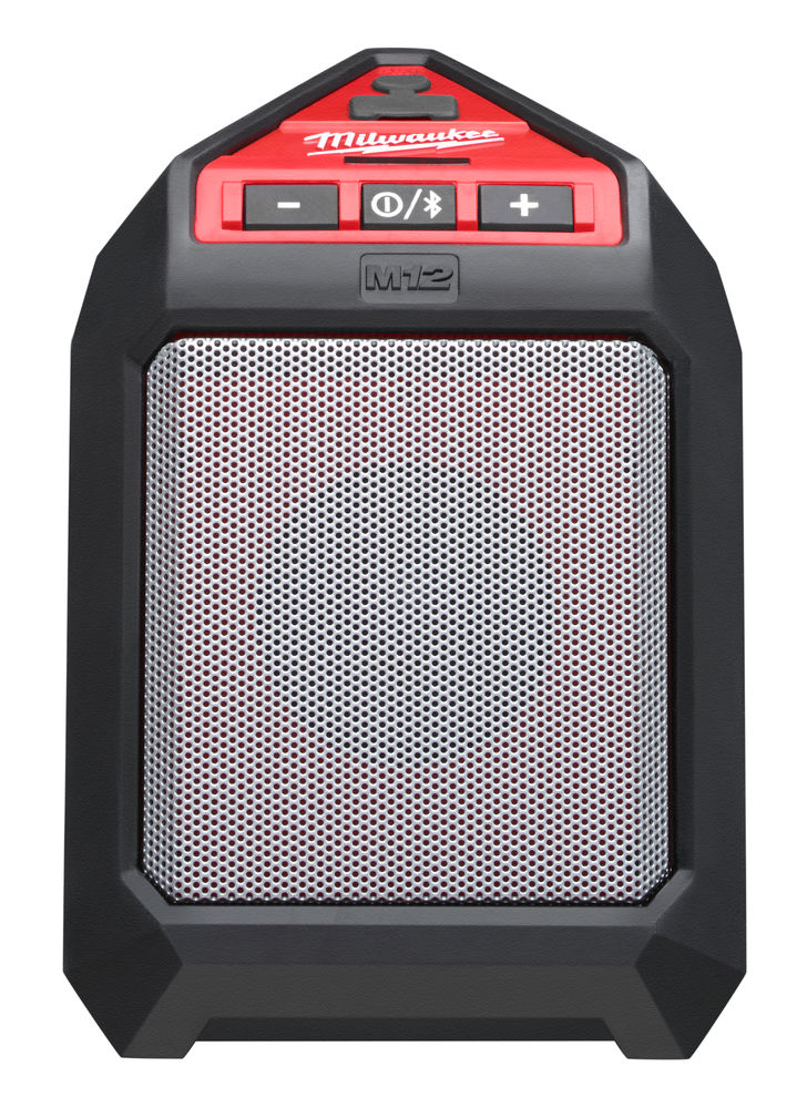 MILWAUKEE 12V BLUETOOTH SPEAKER / AUX PORT & USB CHARGING - M12JSSP - BODY ONLY